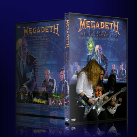 Megadeth: Rust in Peace 20th Anniversary Tour 2010 (Bootleg) Megadethdvd